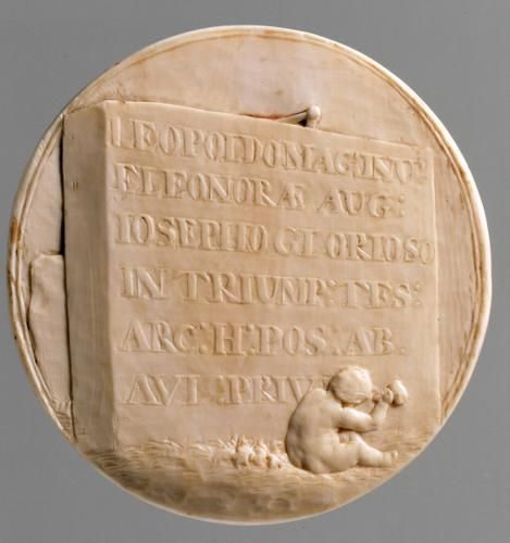 Verso. Medallion with triumphal arch for King Joseph I.