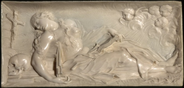 The Ecstasy of Mary Magdalene, ivory, 1680
